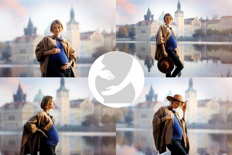 těhotenská fotografie Praha